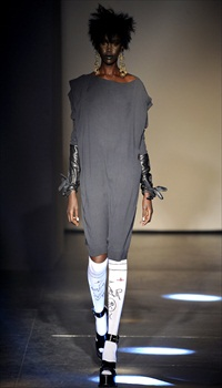 Akuol at Vivienne Westwood Fall/Winter 2012