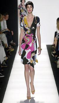Amber Mitchell at Diane von Furstenberg Spring/Summer 2007