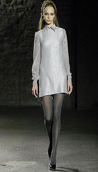 Anna M at Behnaz Sarafpour Fall/Winter 2007