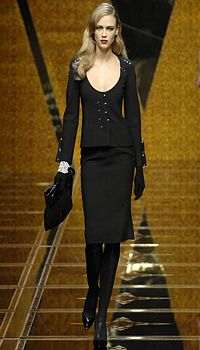 Anna T at Valentino Fall/Winter 2007