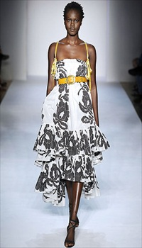 Atong at Sophie Theallet Spring/Summer 2009