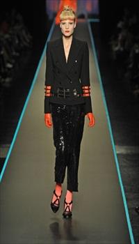 Barbara B at Jean Paul Gaultier Haute Couture Fall/Winter 2008
