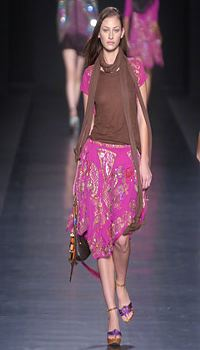 Breann at Etro Spring/Summer 2005