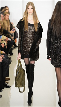 Brittany at Rachel Zoe Fall/Winter 2012