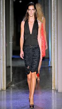 Diana D at Rue du Mail Spring/Summer 2011