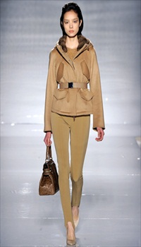 Fei Fei at MaxMara Fall/Winter 2011