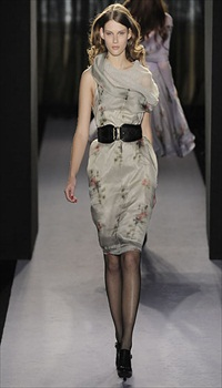 Giedre at Paul Smith Fall/Winter 2010