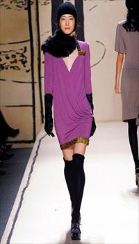 Hyun at Tracy Reese Fall/Winter 2009