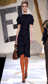 Jac at Fendi Fall/Winter 2011