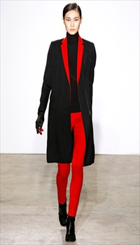 Jia at Costume National Fall/Winter 2011