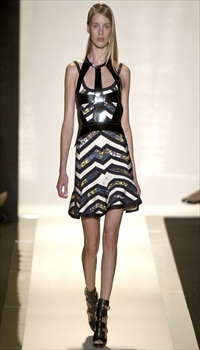 Julia F at Herve Leger by Max Azria Spring/Summer 2013