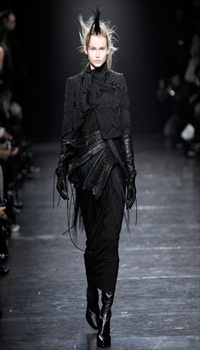 Karo at Ann Demeulemeester Fall/Winter 2011
