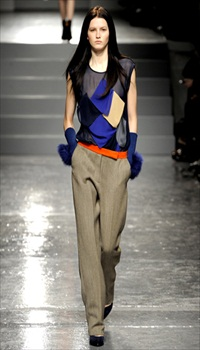 Katlin at Aquascutum Fall/Winter 2011