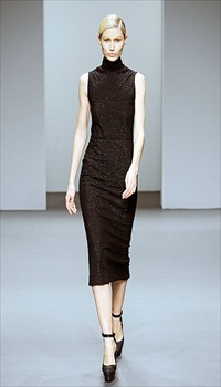 Kirsty at Calvin Klein Fall/Winter 2010