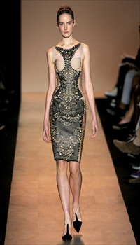 Laura McCone at Herve Leger by Max Azria Spring/Summer 2011