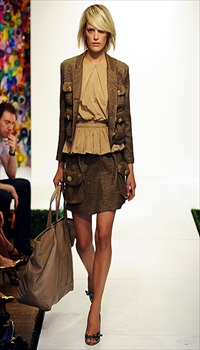 Leah at Mulberry Spring/Summer 2009