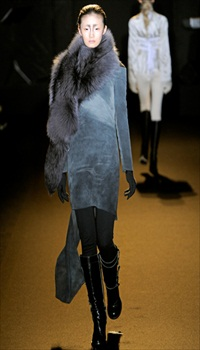 Lily J at AF Vandevorst Fall/Winter 2011
