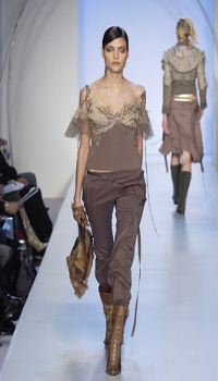 Luciana at Y and Kei Fall/Winter 2003