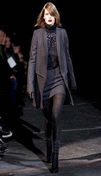 Malgosia at Givenchy Fall/Winter 2010