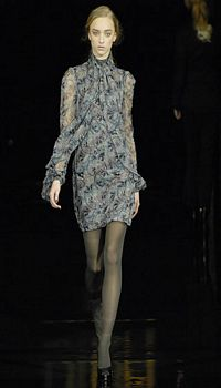 Marcelina at Biba Fall/Winter 2007