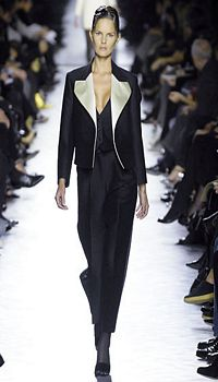 Marcelle at YSL Rive Gauche Fall/Winter 2007