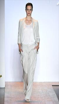 Marie Moreau at Max Azria Spring/Summer 2011