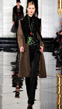 Maryna at Ralph Lauren Fall/Winter 2011