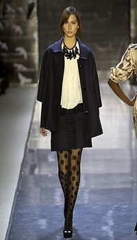 Michelli at Tracy Reese Fall/Winter 2007