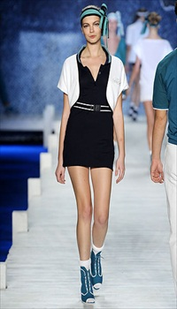 Mina at Lacoste Spring/Summer 2010