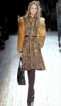 Olivia at Theory Fall/Winter 2012