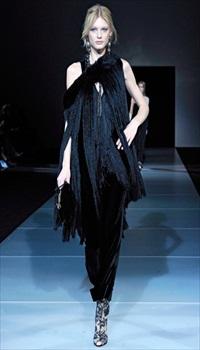 Patricia V at Giorgio Armani Fall/Winter 2011
