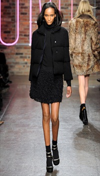 Rose at DKNY Fall/Winter 2011