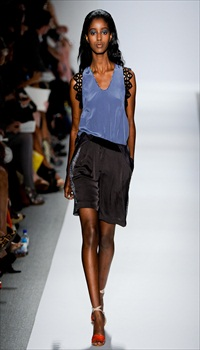 Senait at Rebecca Taylor Spring/Summer 2012