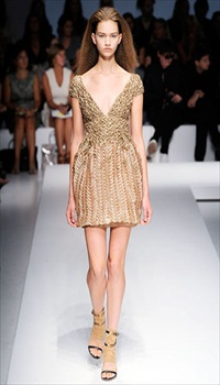 Sharon K at Gianfranco Ferre Spring/Summer 2010 border=