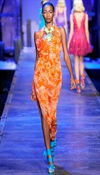 Shena at Christian Dior Spring/Summer 2011