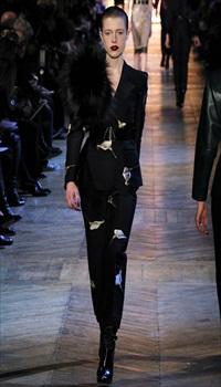 Sojourner at Yves Saint Laurent Fall/Winter 2012