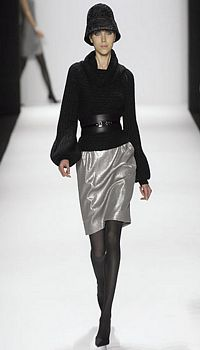 Tanya P at Carmen Marc Valvo Fall/Winter 2007