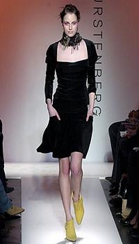Ali T at Diane von Furstenberg Fall/Winter 2004