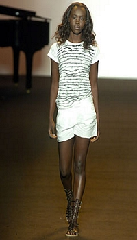 Clara B at Imitation of Christ Spring/Summer 2005