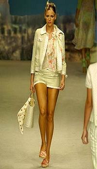 Diana Meszaros at Trend Les Copains Spring/Summer 2005