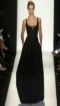 Jana at Narciso Rodriguez Spring/Summer 2005