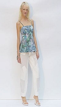 Liudmilla at United Bamboo Spring/Summer 2005