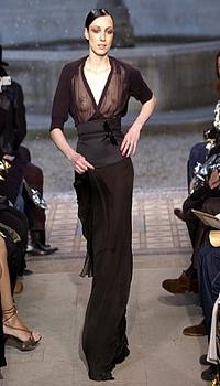 Marina Dias at Cher Michel Klein Fall/Winter 2004