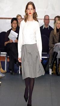 Michelle F at Katarzyna Szczotarska Fall/Winter 2004