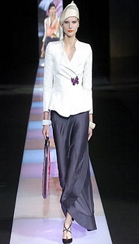 Rasa at Giorgio Armani Spring/Summer 2005