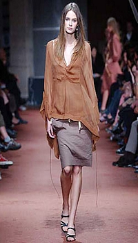 Renée at Isabel Marant Spring/Summer 2003