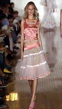 Vicky at Sebastian Pons Spring/Summer 2005