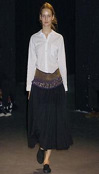 Zdenka at Junya Watanabe Spring/Summer 2005