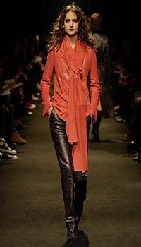 Zoe at Ruffo Research Fall/Winter 2002
