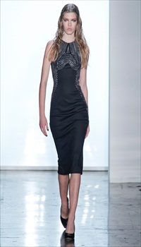 Valerija S at Cushnie et Ochs Fall/Winter 2012